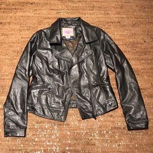 Jackets & Blazers - Moto jacket Metallic medium
